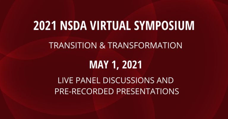 Join us for the 2021 Virtual NSDA Symposium